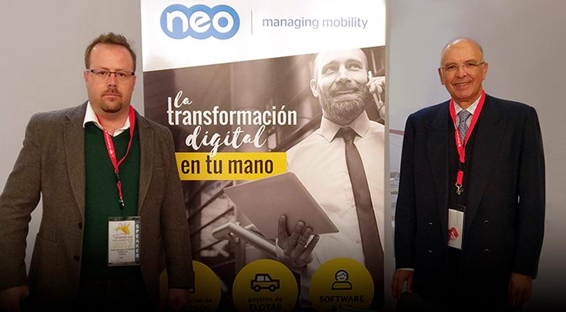 NEO presenta Work&Track Mobile en Startup Olé