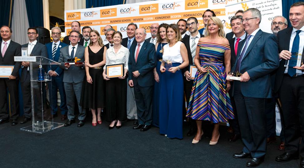 NEO en la entrega de los premios ECOFIN 2017