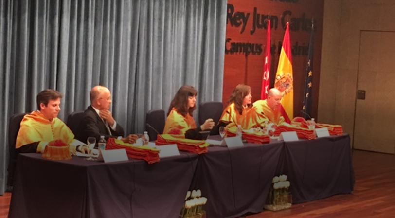 El presidente de NEO apadrina la promoción 2017 de graduados ADE de la Univ. Rey Juan Carlos