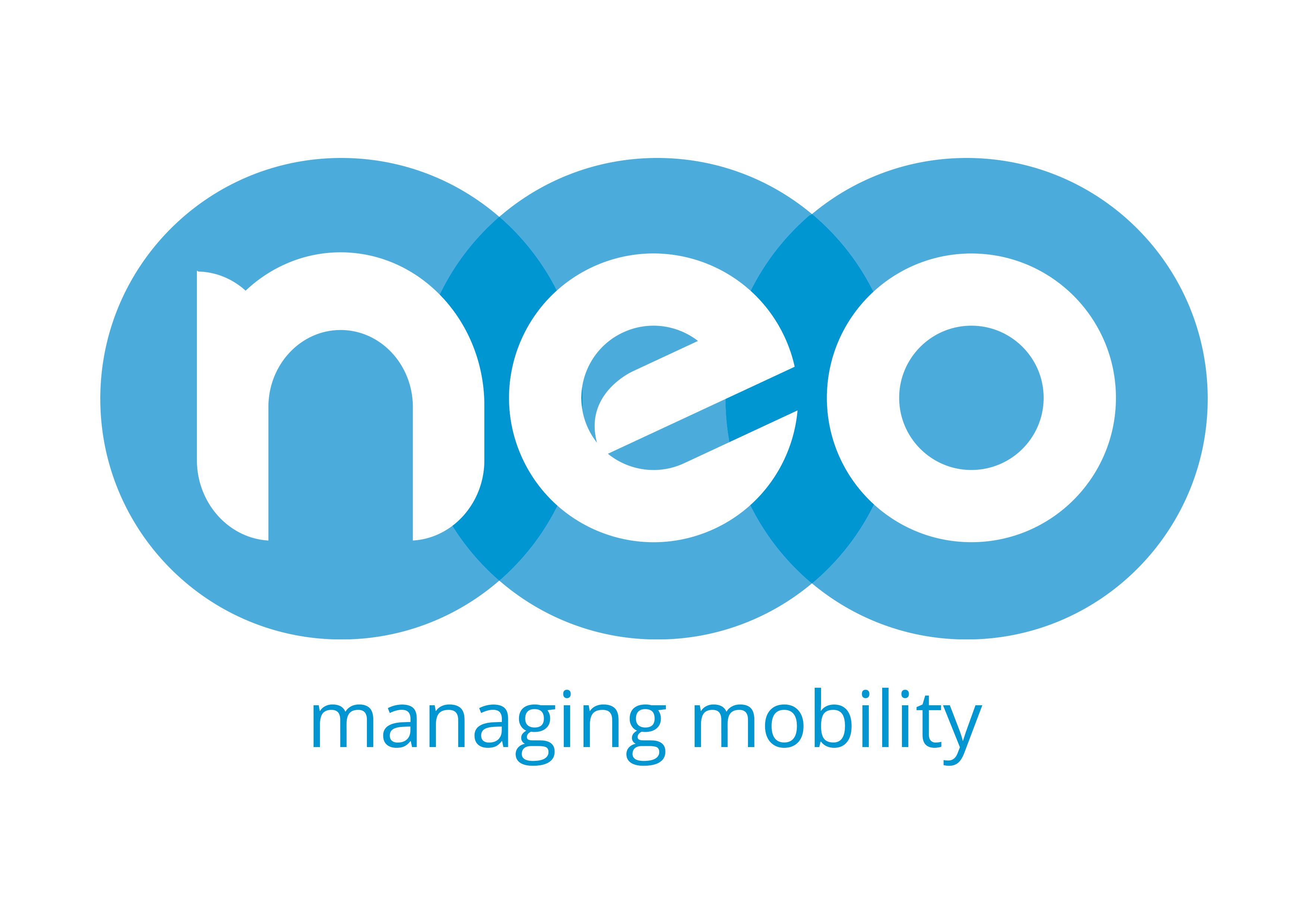 Logotipo NEO managing mobility
